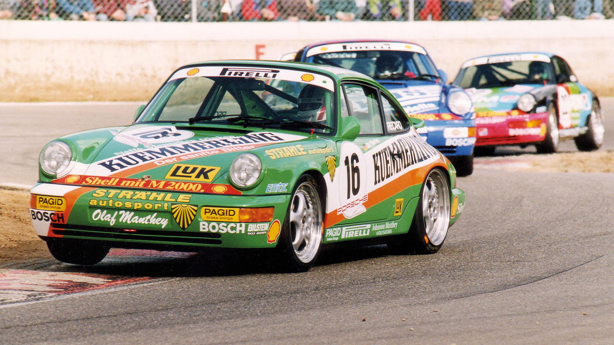 Porsche 964 Carrera Cup race