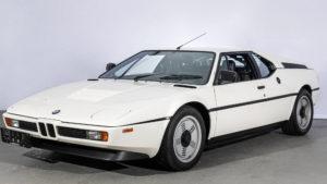 White BMW M1