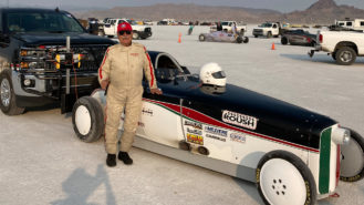 Joining the 200mph club: there's no cure for Bonneville's 'salt fever'