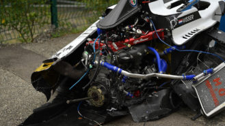 W Series drivers unharmed but safety questions loom after Spa pile-up