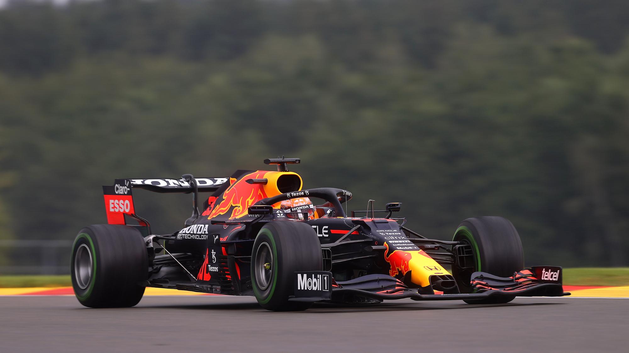 Max Verstappen, 2021 Belgian GP