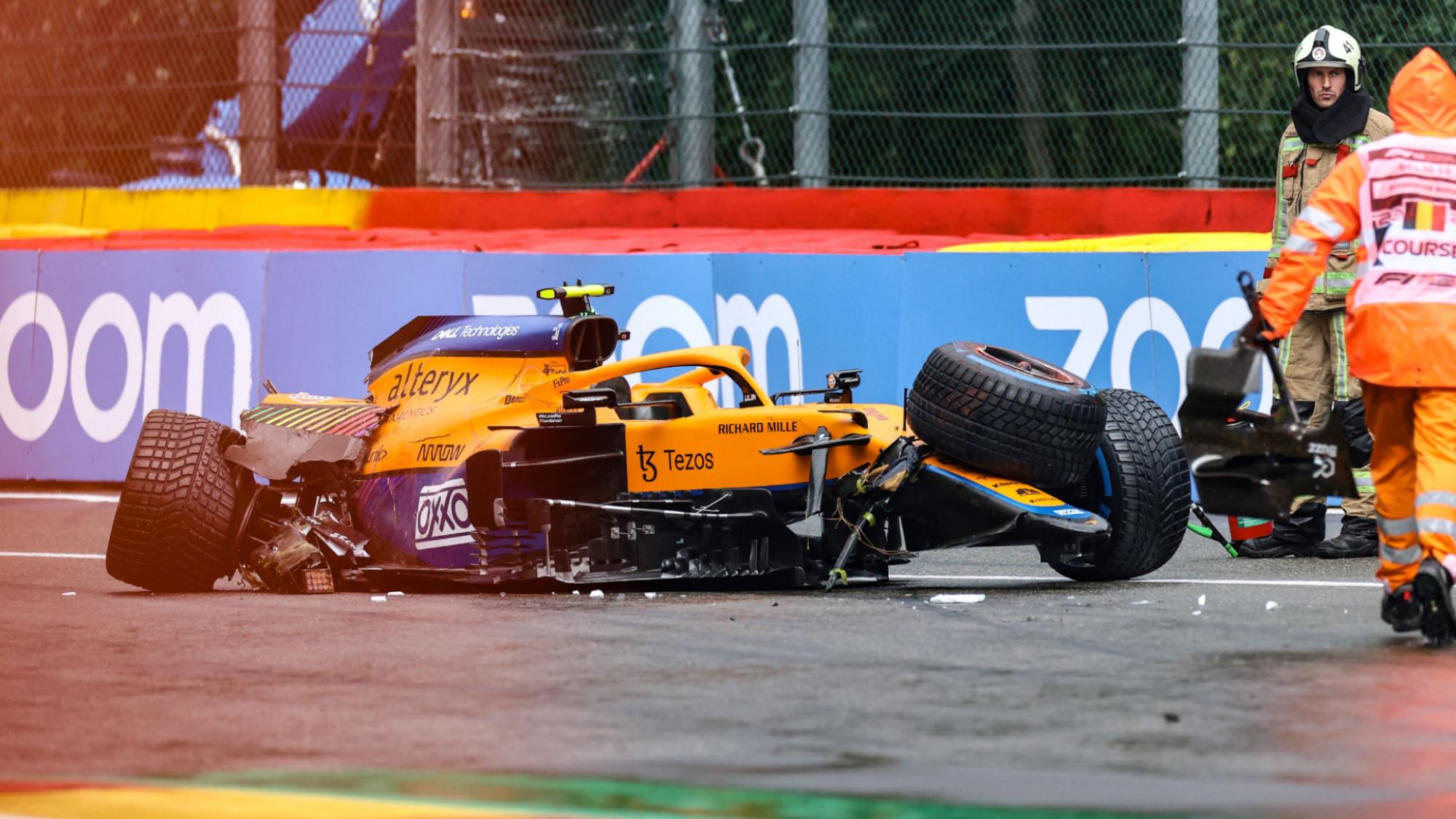 Lando Norris, 2021 Belgian GP Qualifying