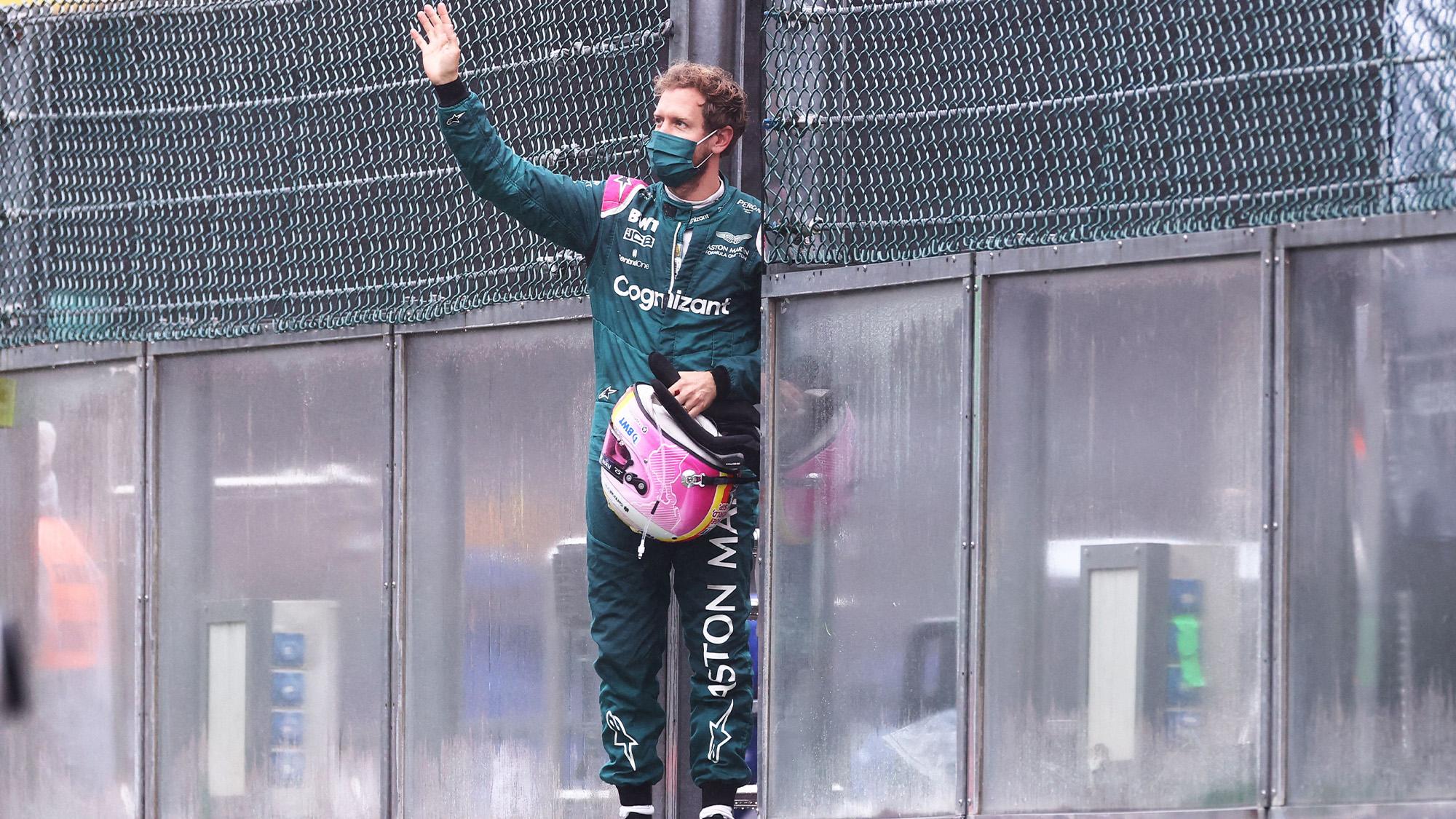 Sebastian-Vettel-waves-to-fans-at-the-2021-Belgian-Grand-Prix