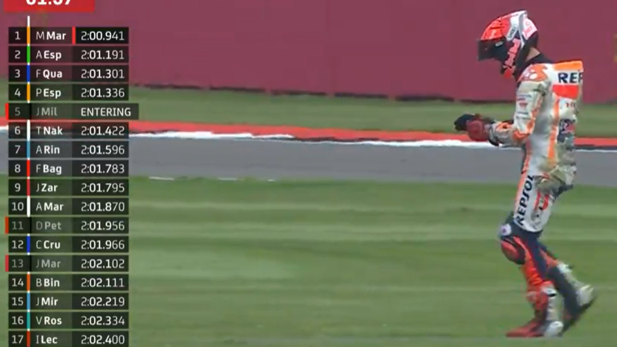 Marc Márquez, 2021 British GP