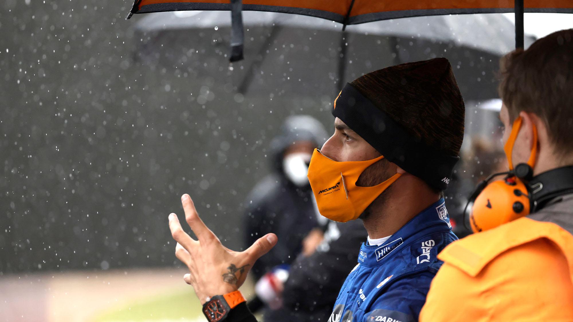 Ricciardo grid