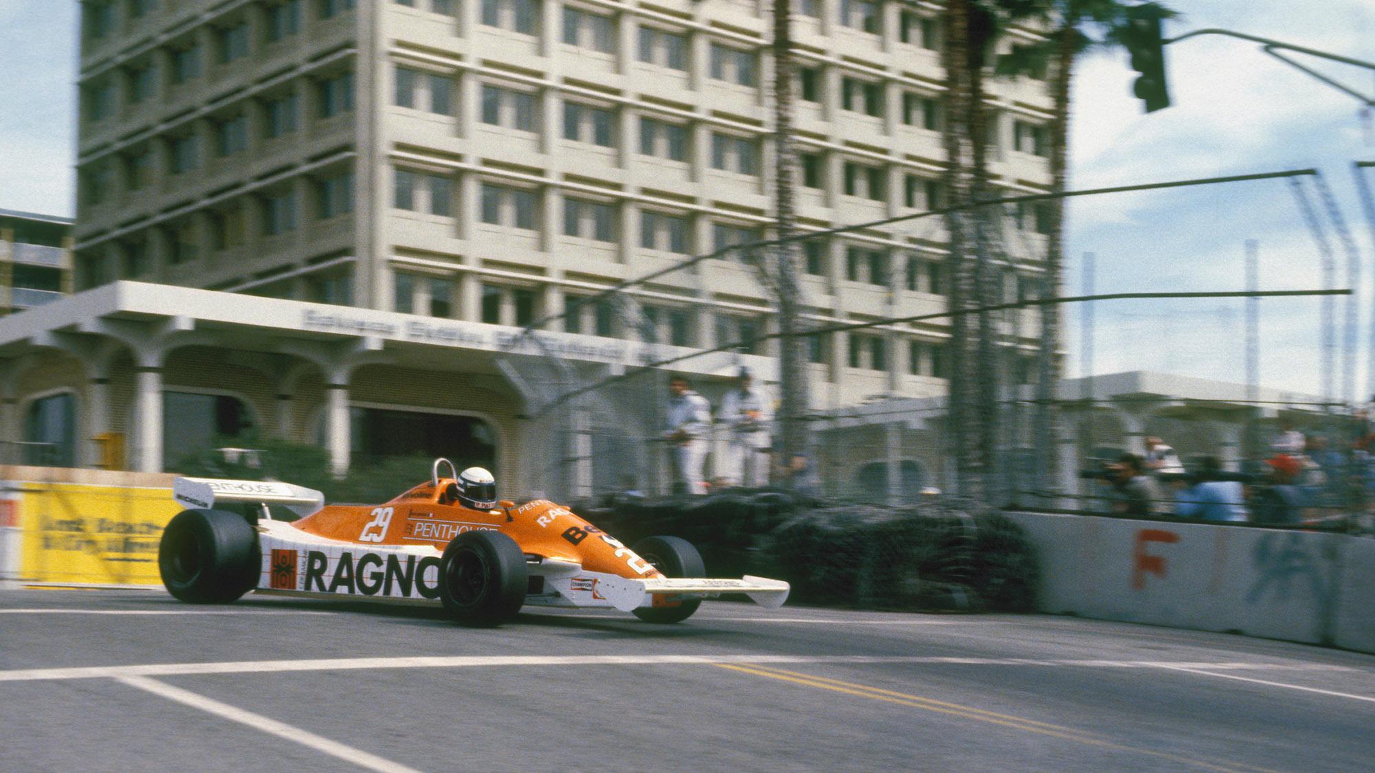 Riccardo Patrese at the 1981 Long Beach Grand Prix