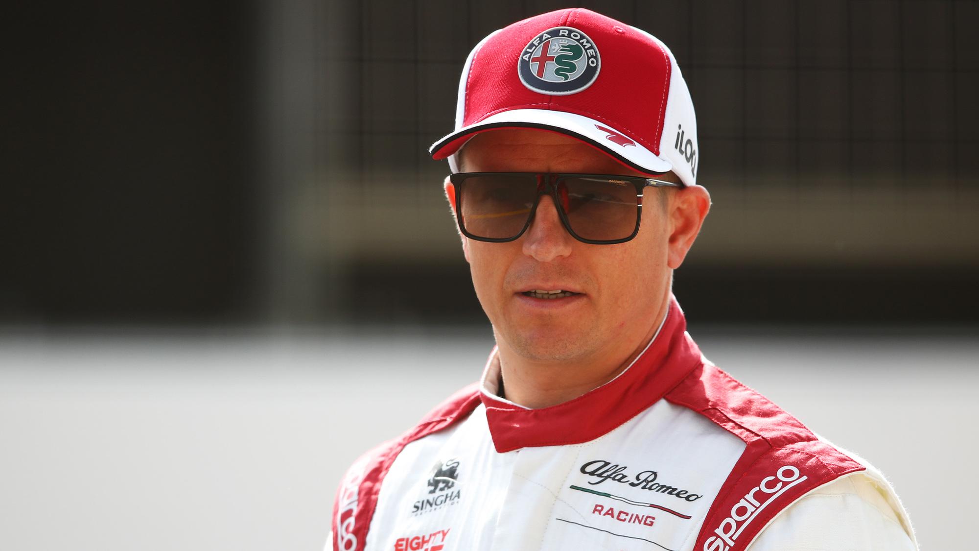 Kimi Raikkonen 2021 portrait