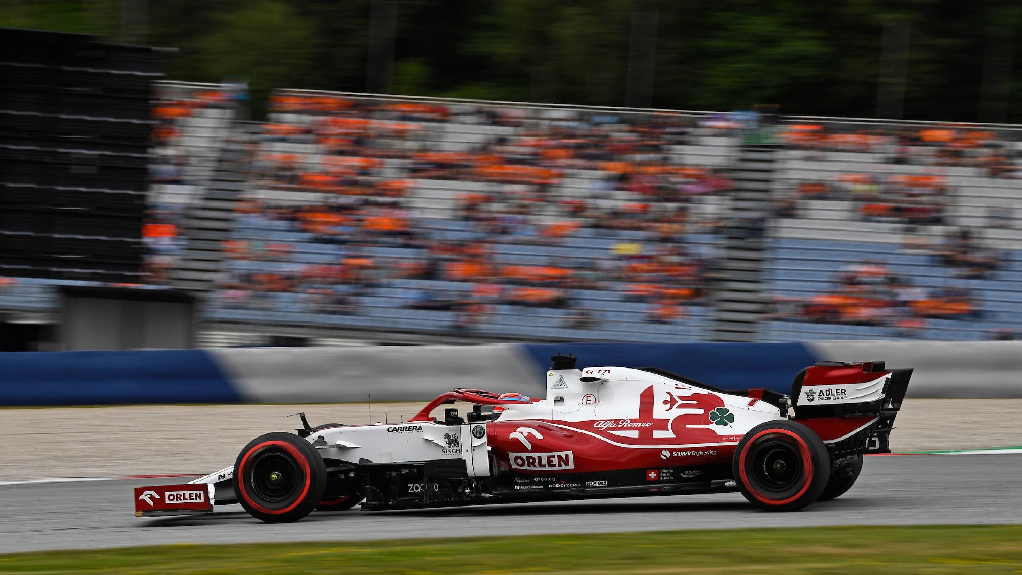 Kimi Räikkönen, 2021 Austrian GP