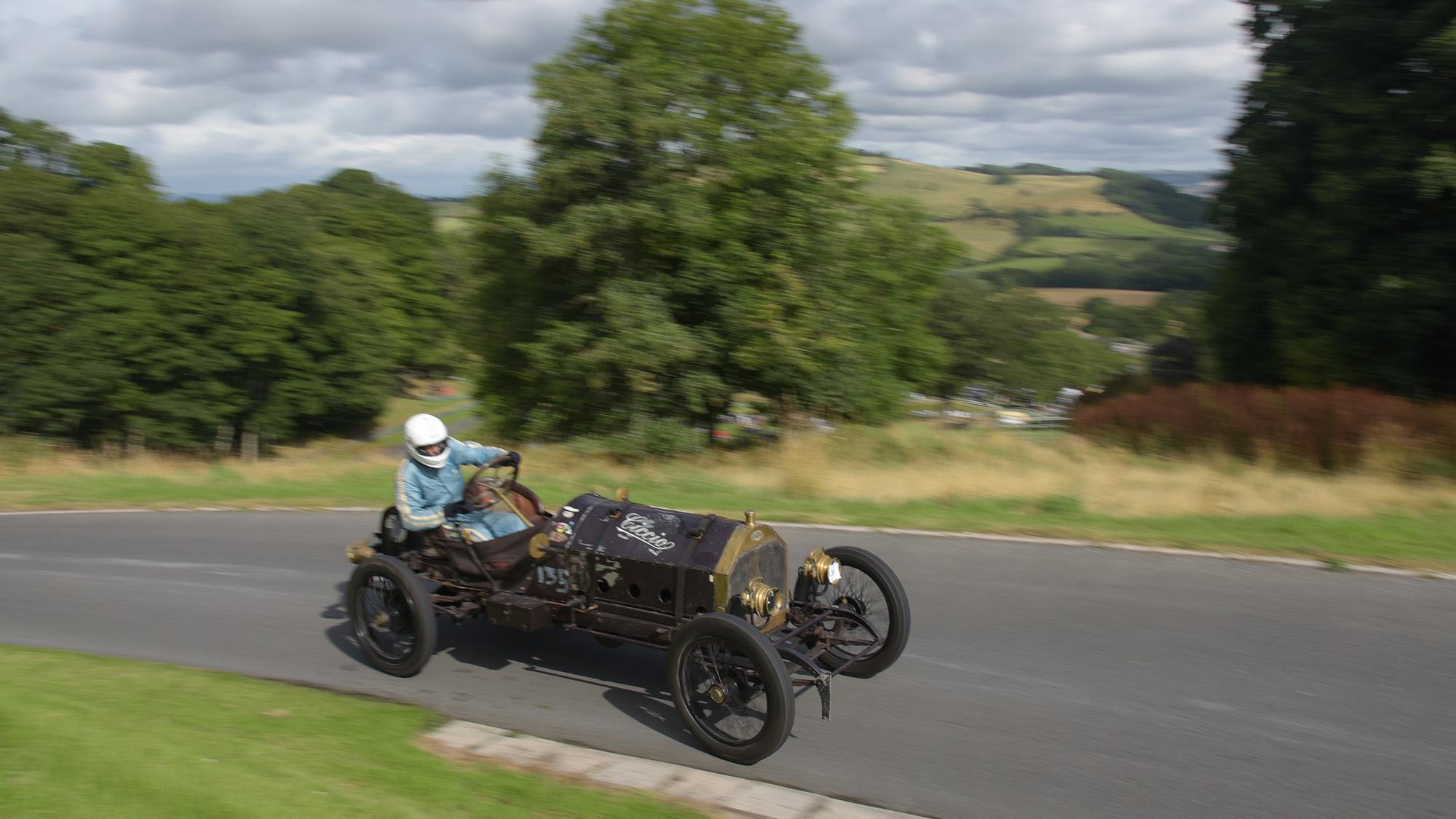Hillclimb scat car