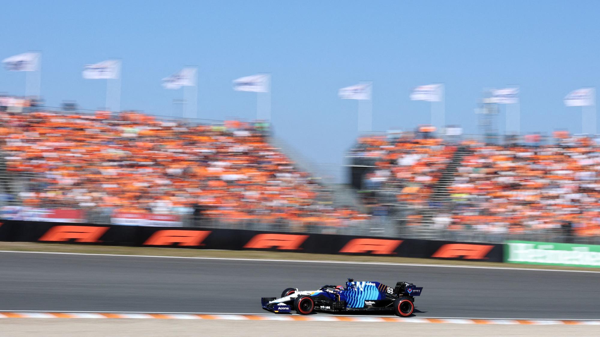 George Russell, 2021 Dutch GP