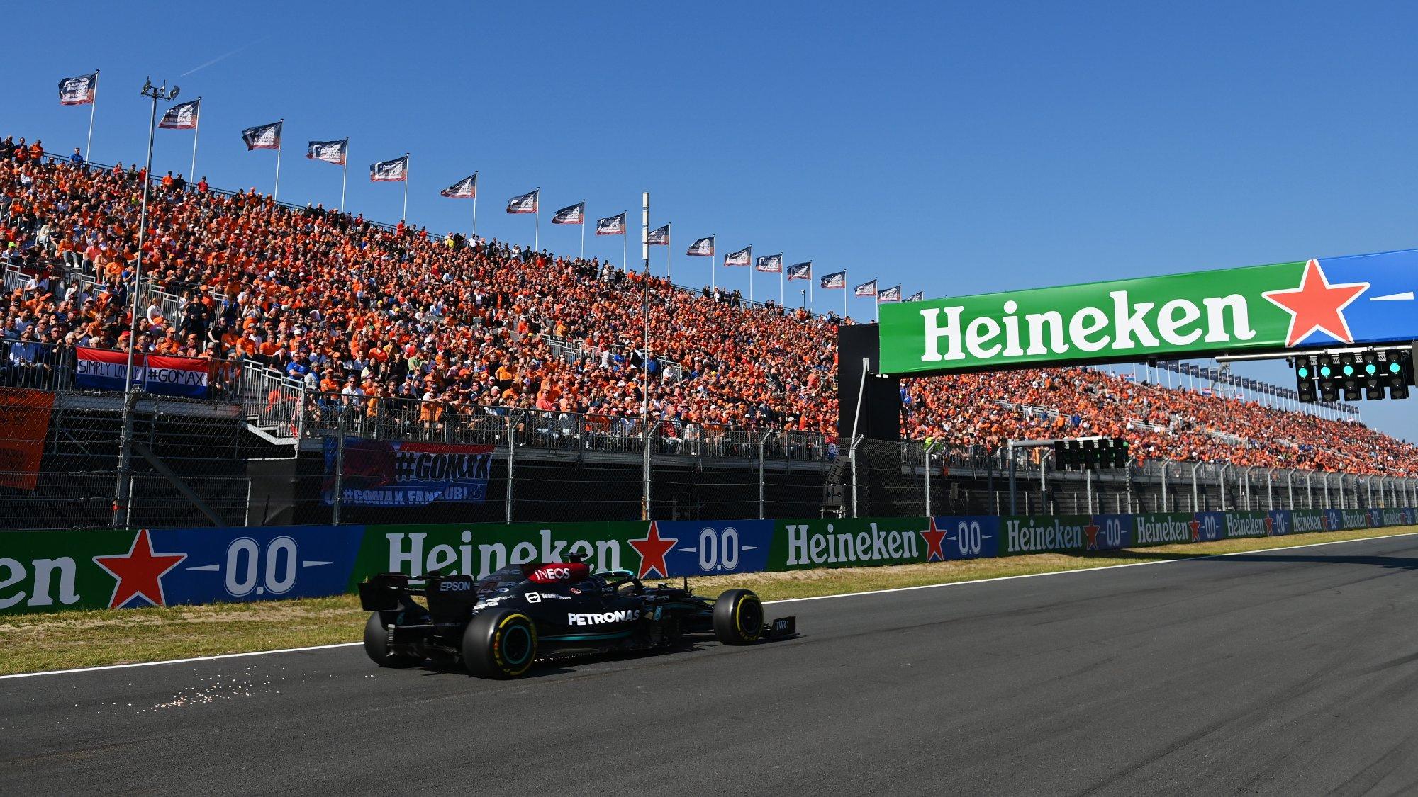Lewis Hamilton Q3 Dutch GP