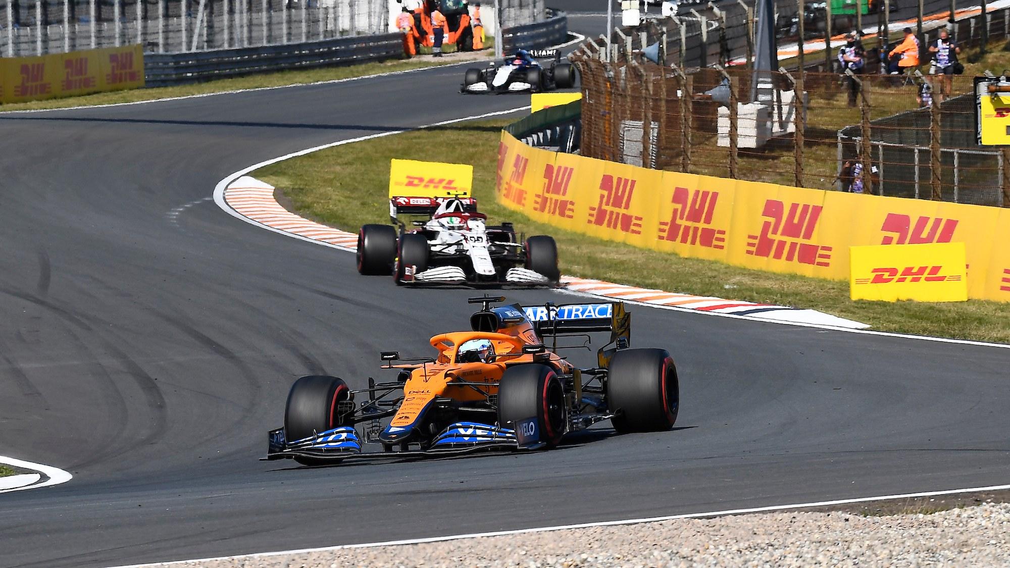 Daniel Ricciardo, 2021 Dutch Gp