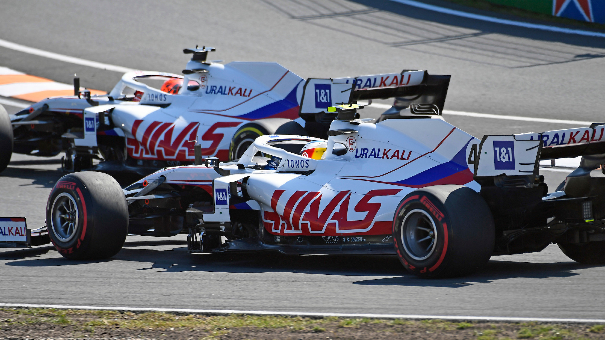 Haas 2021 Dutch GP