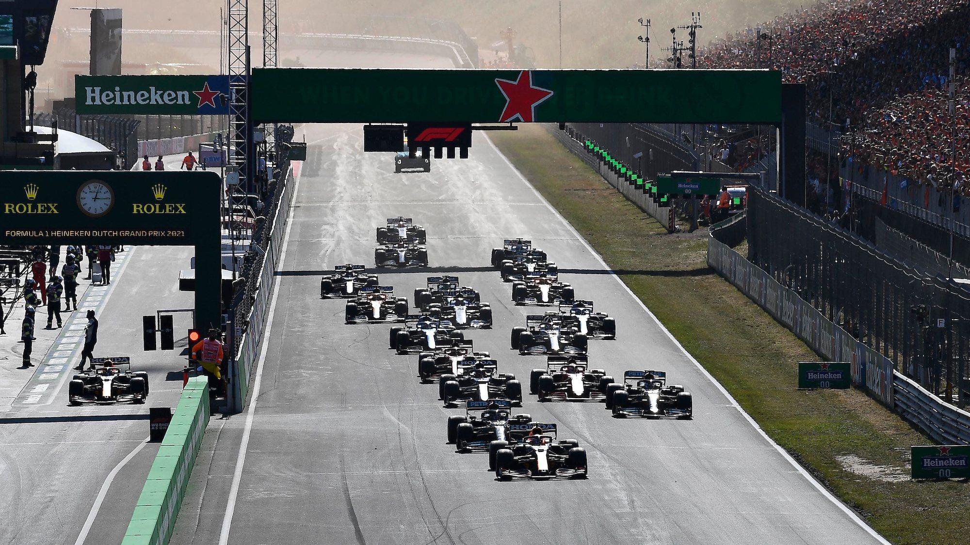 Dutch GP 2021 race start