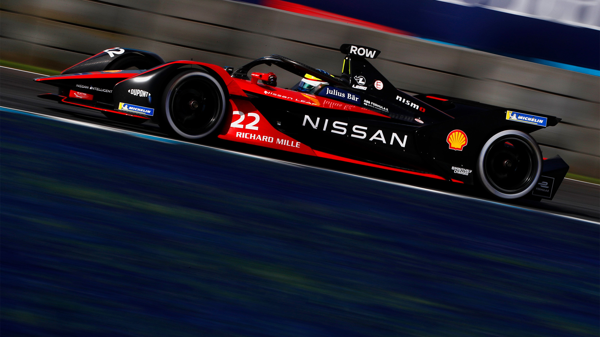 Nissan e dams of Oliver Rowland