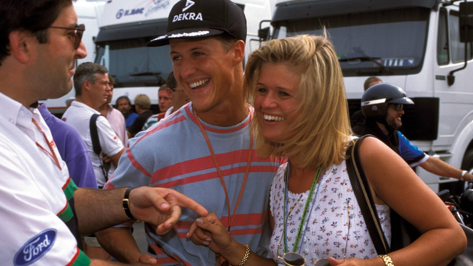 Michael Schumacher with Corinna
