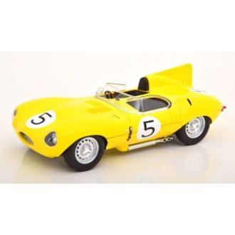 Product image for 1/18 Jaguar D-Type Short Nose | No.5, 24H Le Mans 1956, Swaters/Rouselle
