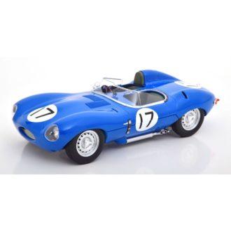 Product image for 1/18 Jaguar D-Type Short Nose | No.17, 24H Le Mans 1957, Lucas/Brussin