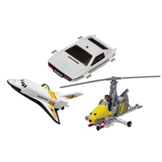 Product image for Fit The Box James Bond Collection (Space Shuttle, Little Nellie, Lotus Esprit)