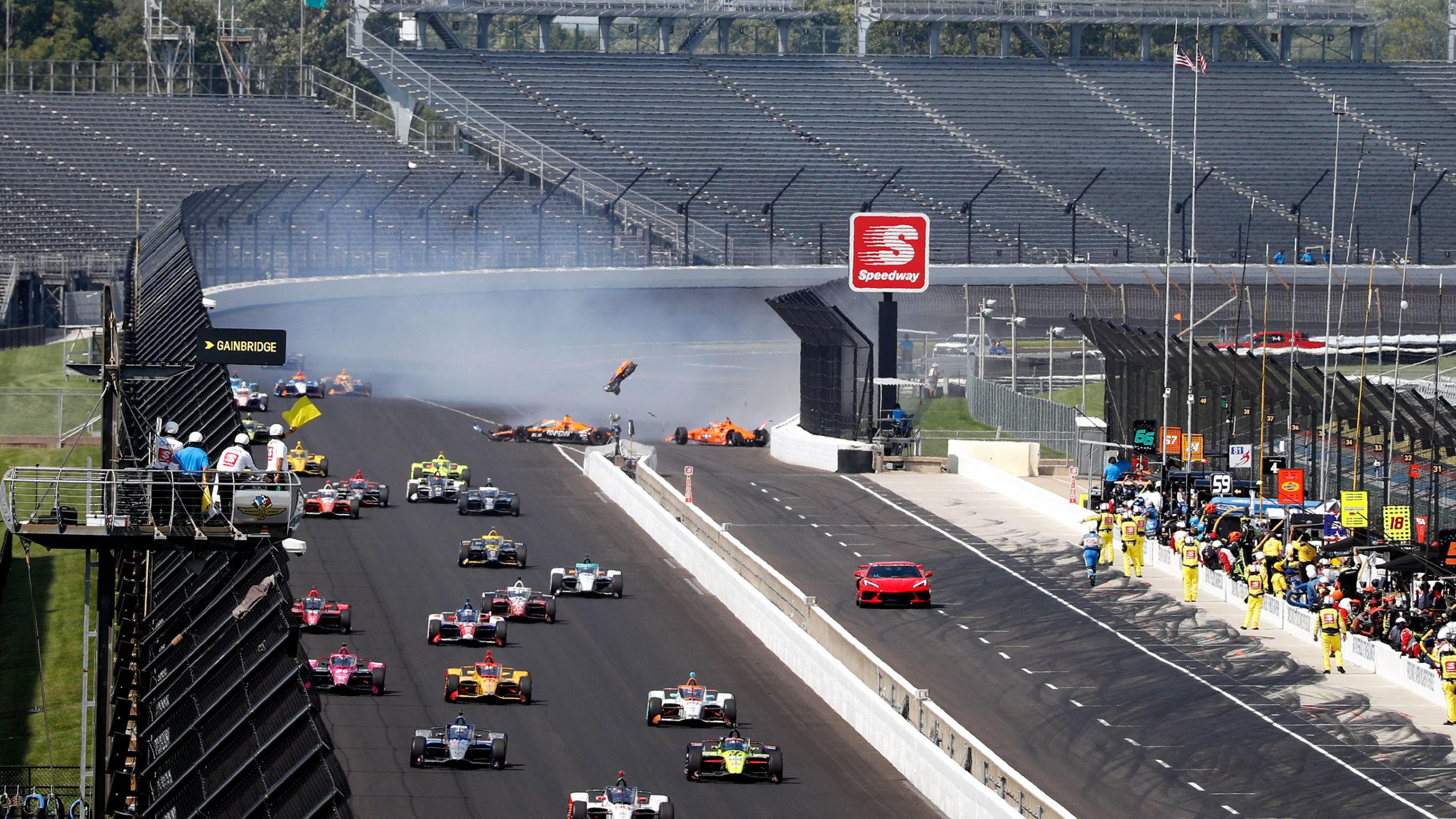 Oliver Askew Indy 500 crash