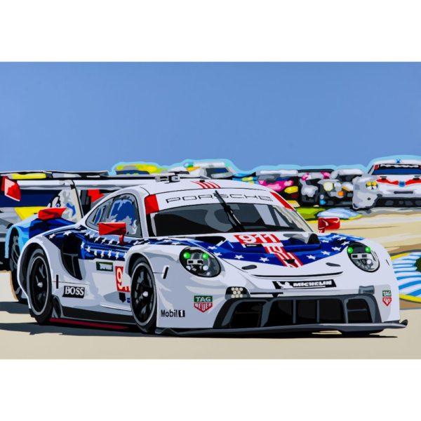 Porsche 911 RSR at Sebring 2018