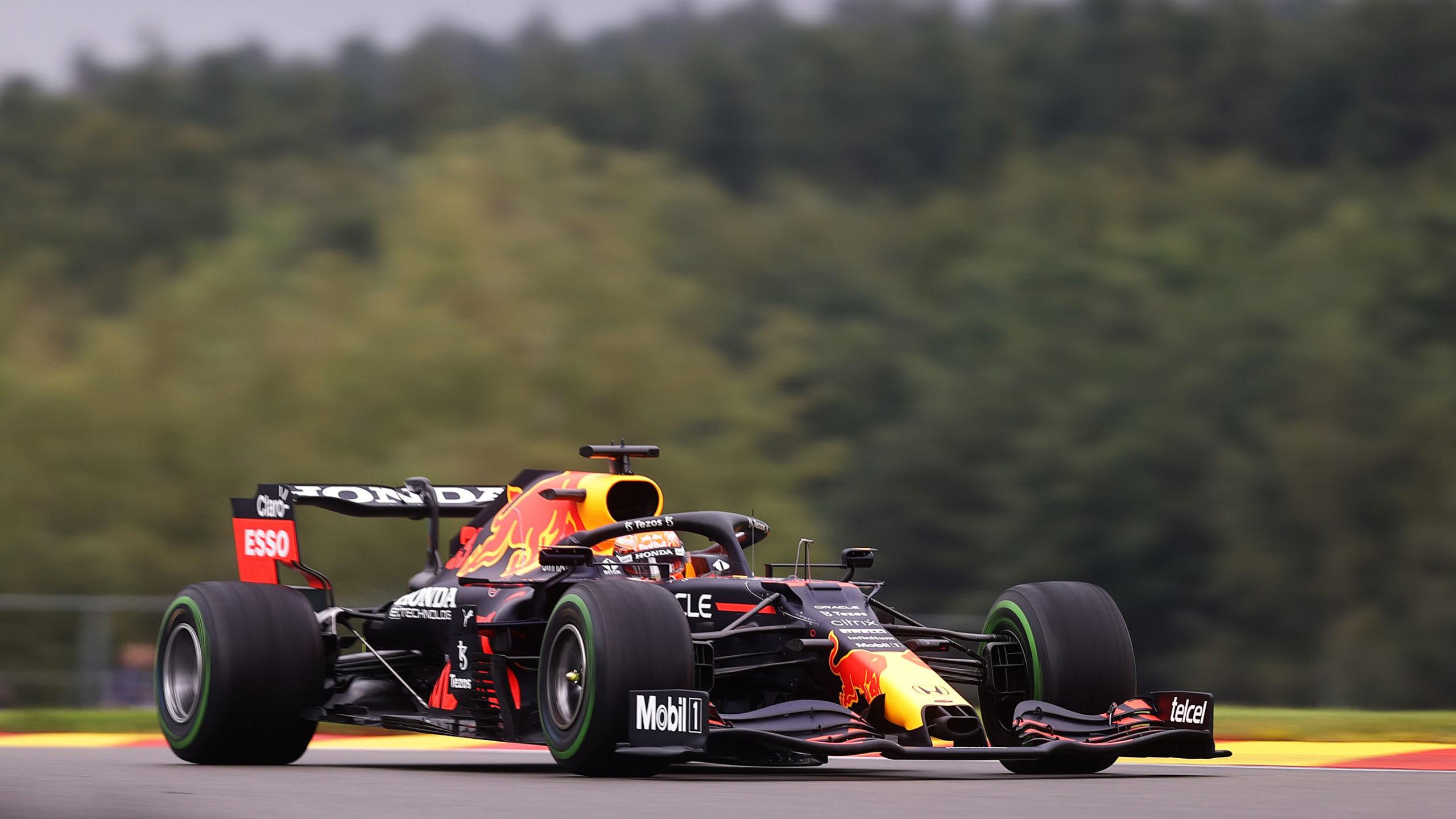 Red Bull of Max Verstappen at Spa 2021
