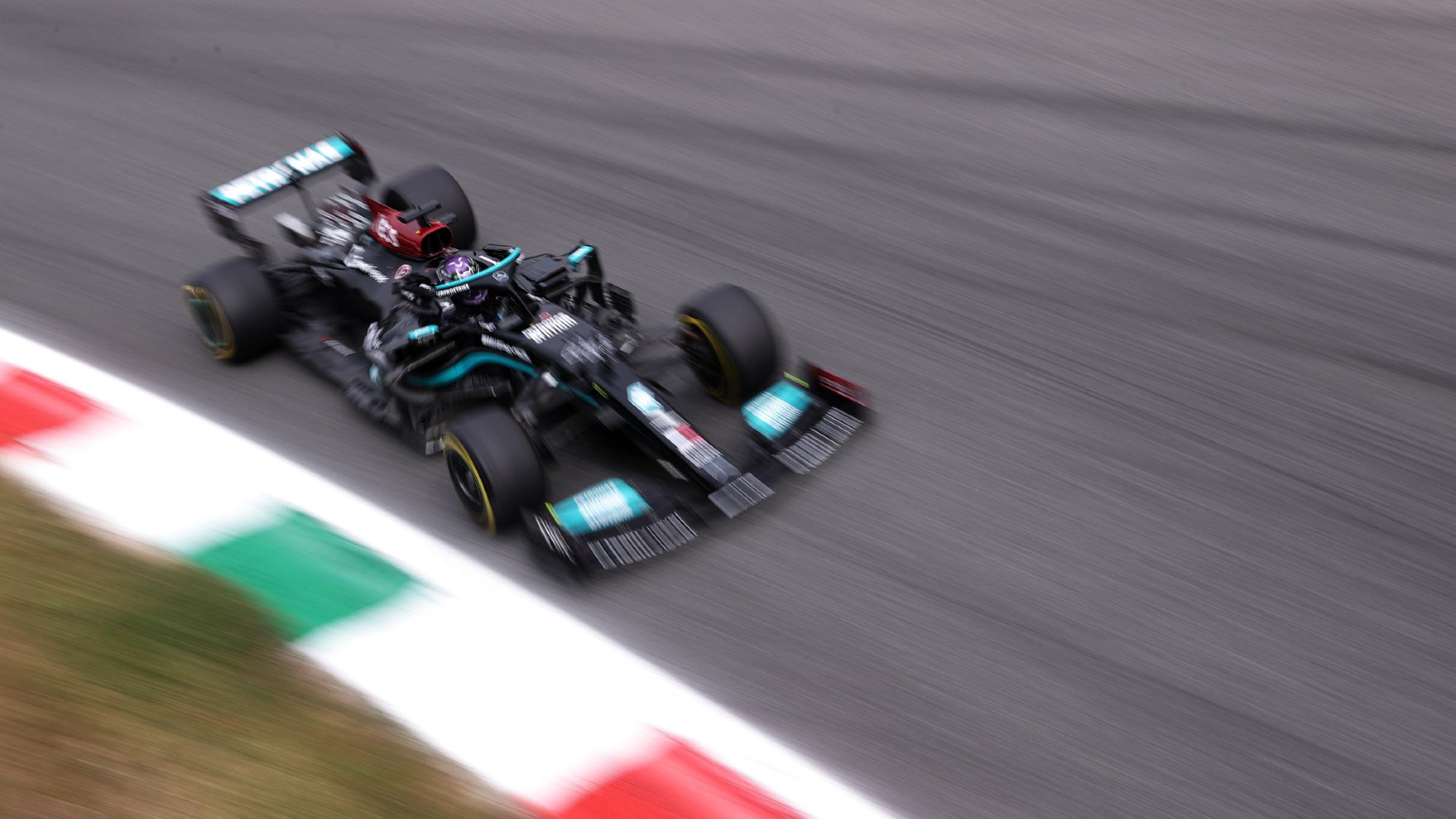 Lewis Hamilton, 2021 FP1 Italian GP