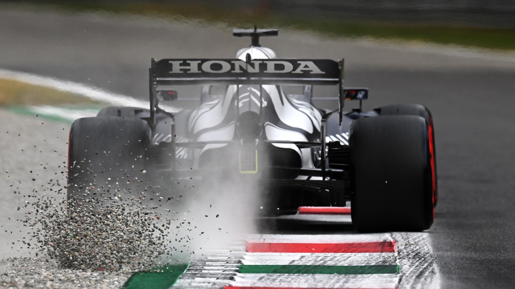 Yuki Tsunoda, 2021 Italian GP Qualifying