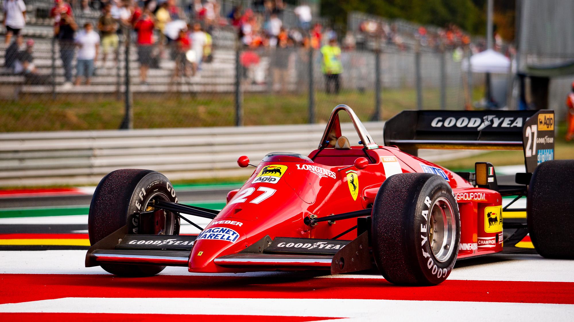 Michele Alboreto Ferrari at Monza 2021