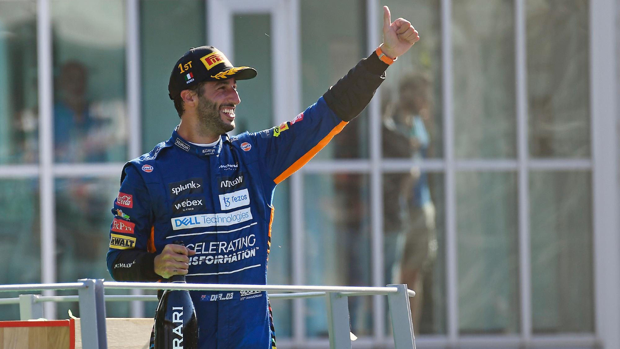 Daniel Ricciardo, 2021 Italian GP