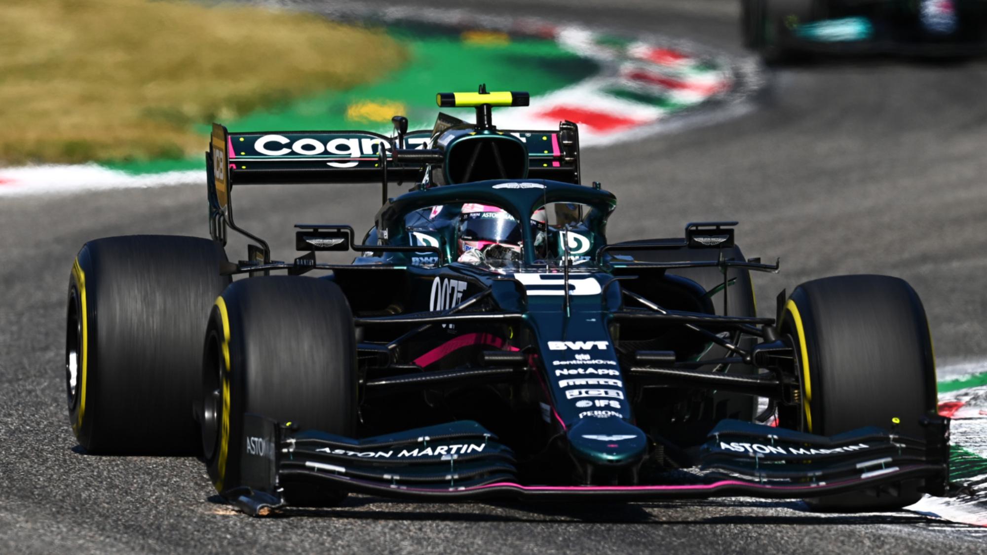 Sebastian Vettel, 2021 Italian GP