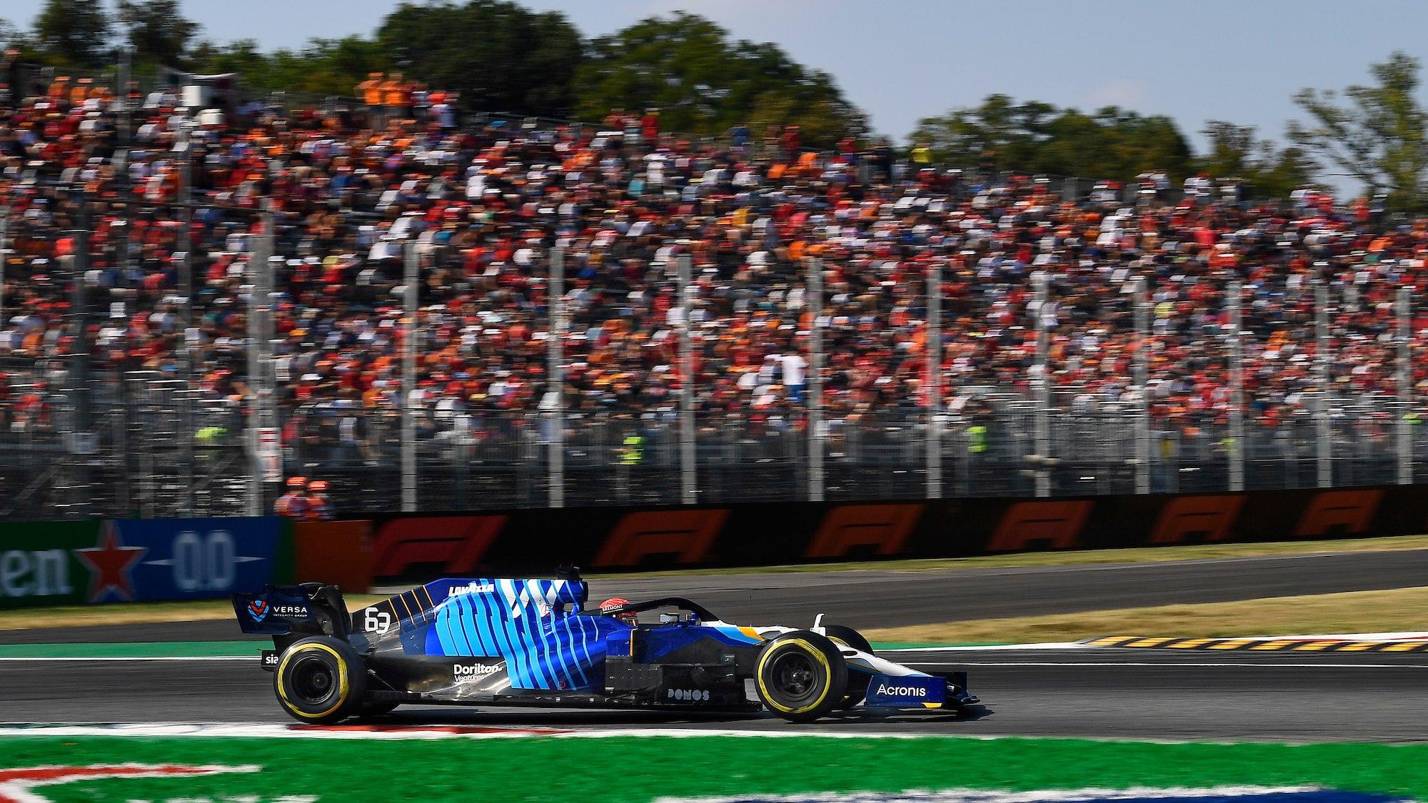 George Russell, 2021 Italian GP