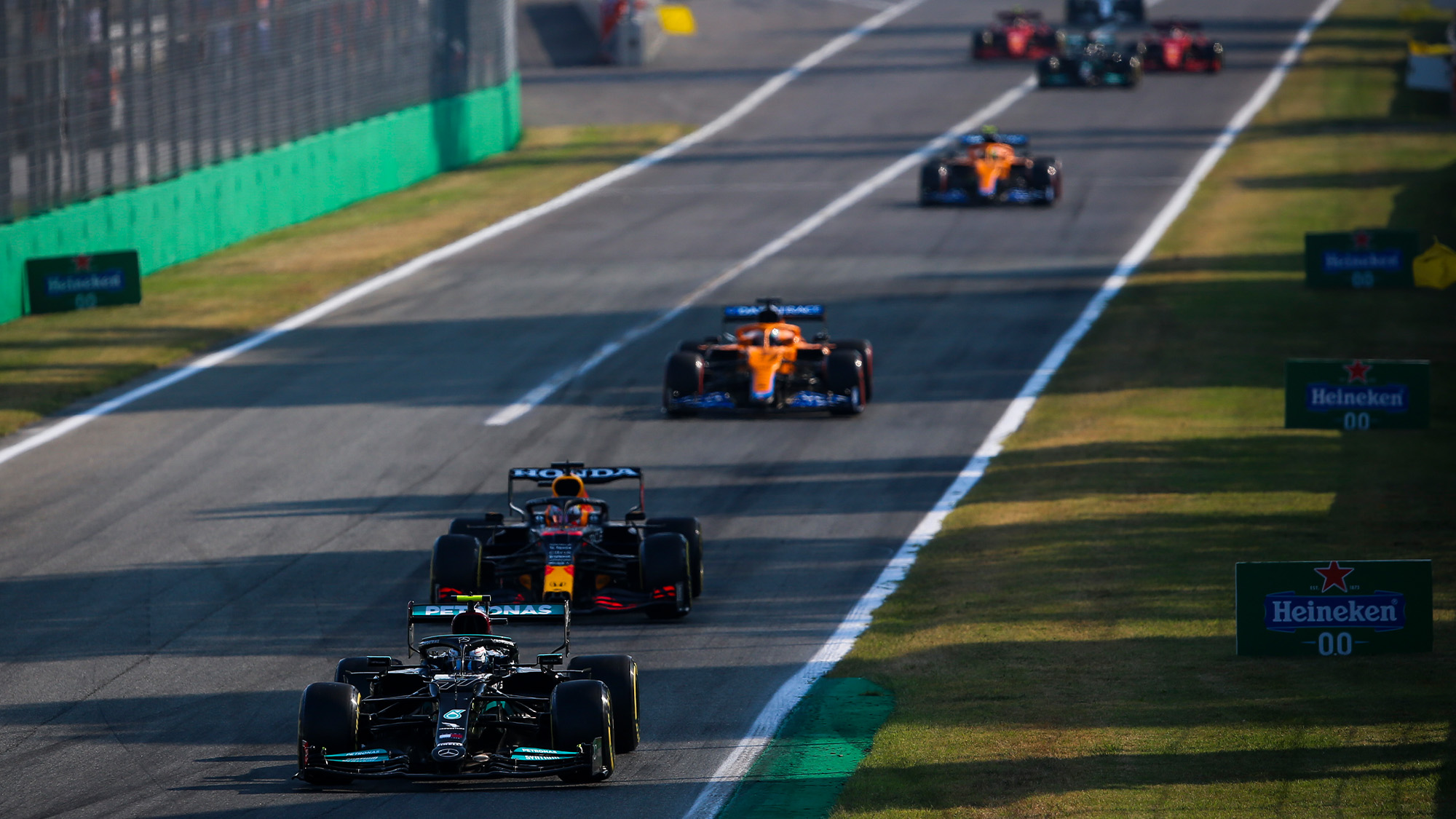 Valtteri Bottas leads the field in sprint qualifying for the 2021 Italian Grand Prix