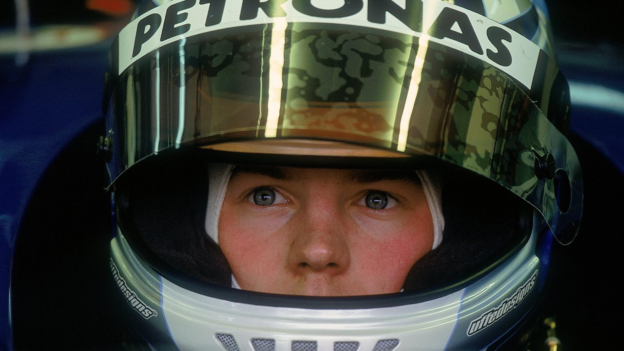 Kimi Räikkönen, 2001 F1 Testing