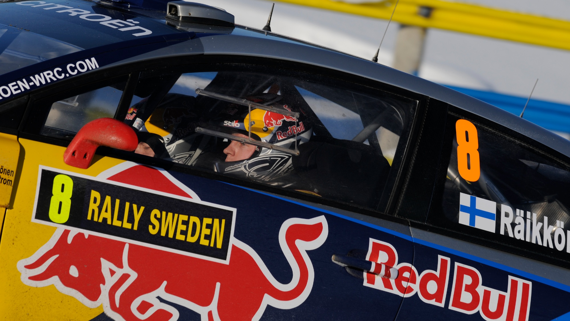 Kimi Raikkonen, 2010 WRC