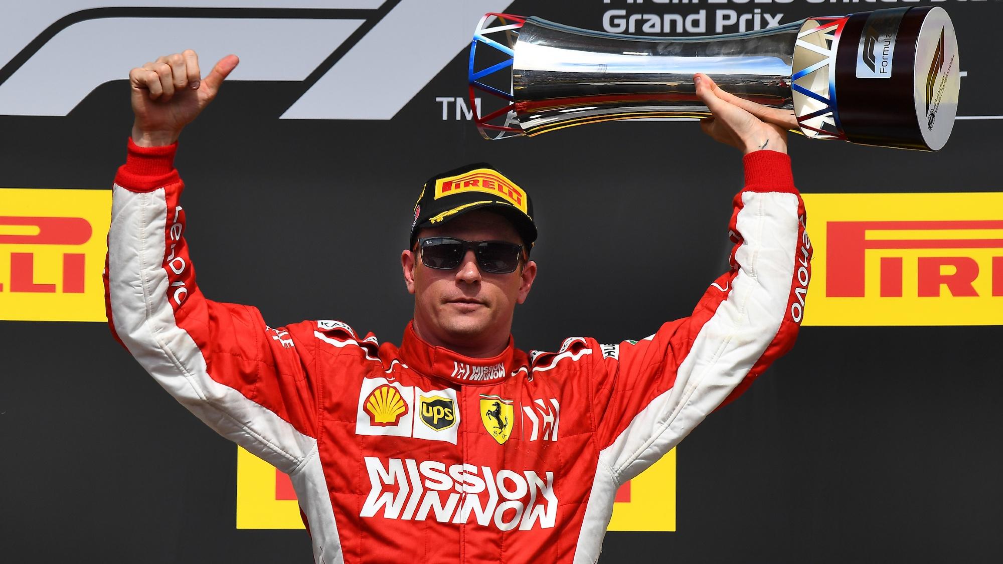 Kimi Raikkonen, 2018 US Grand Prix