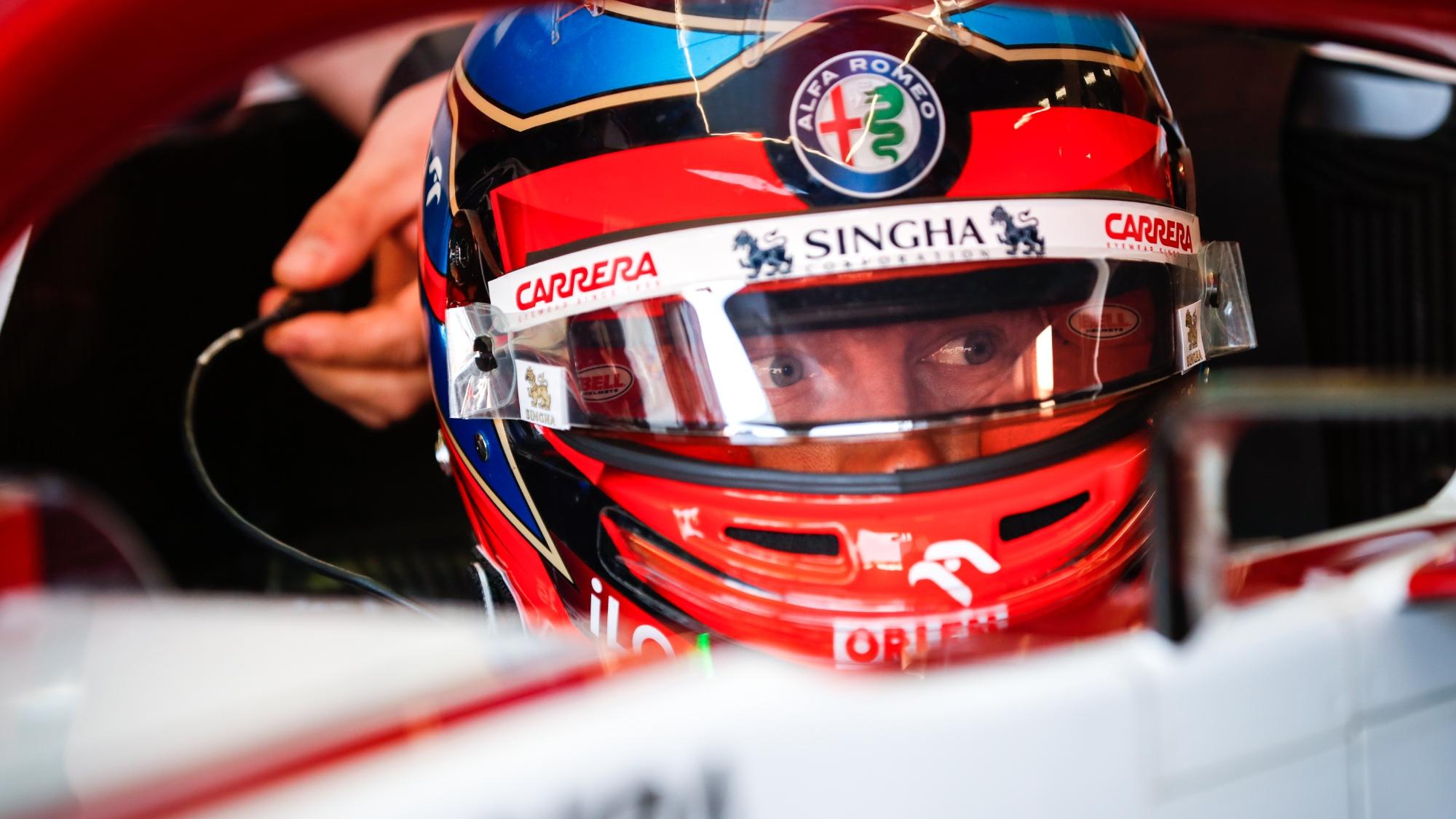 Kimi Raikkonen, 2021 Dutch GP