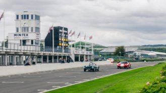 Bringing historic motor sport home at our 2021 Goodwood track day