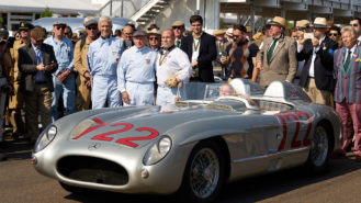 Stirling Moss's Mille Miglia-winning Mercedes makes its final run