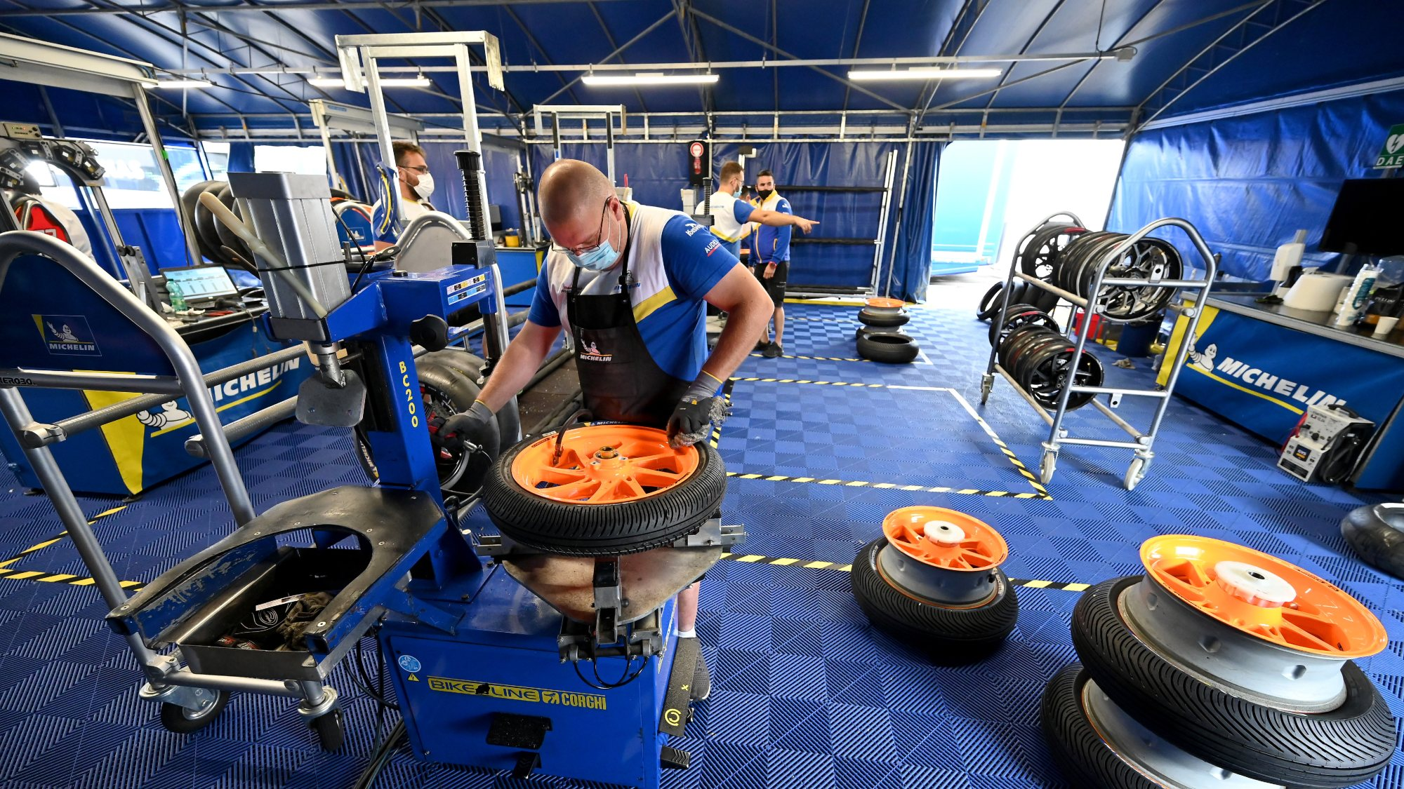 Michelin Moto3 tyres
