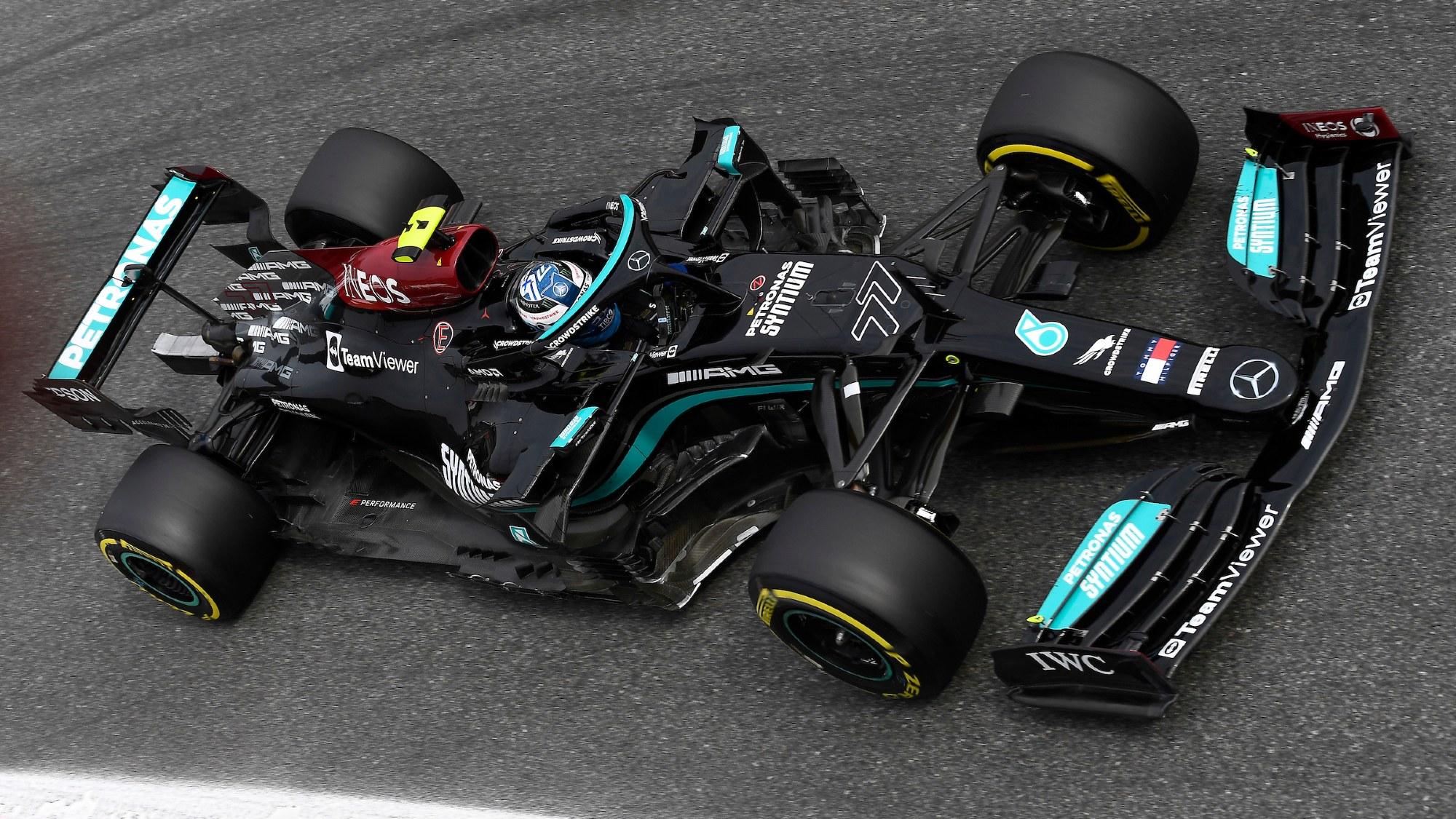 Valtteri Bottas, 2021 Italian GP