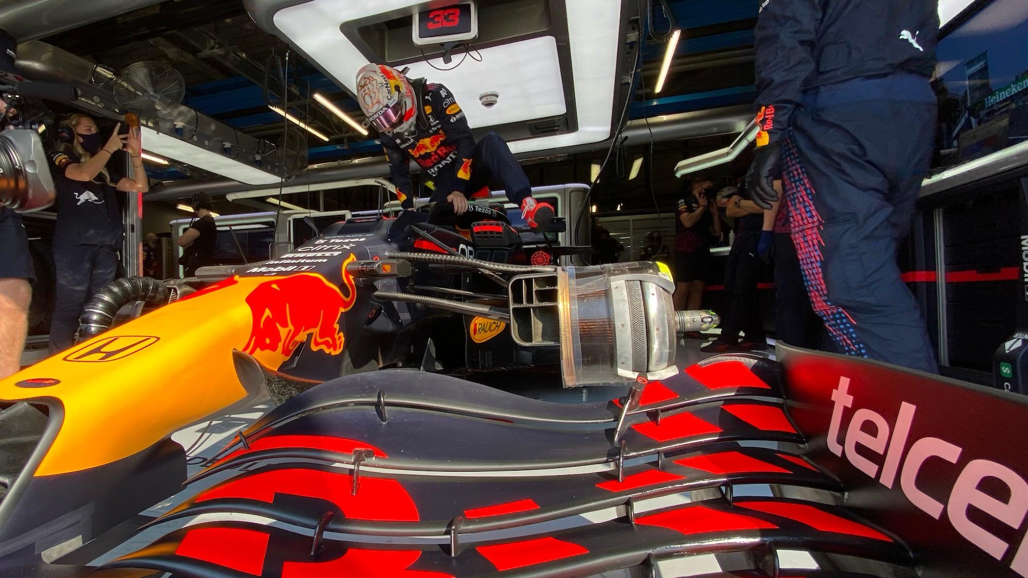 Max Verstappen, 2021 Italian GP