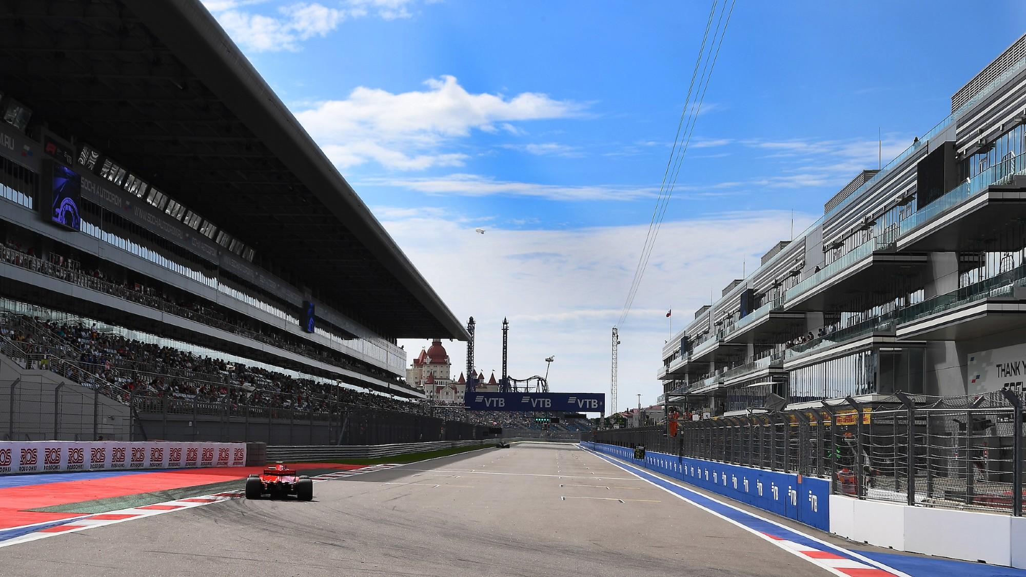 Sochi Autodrom 2018 F1