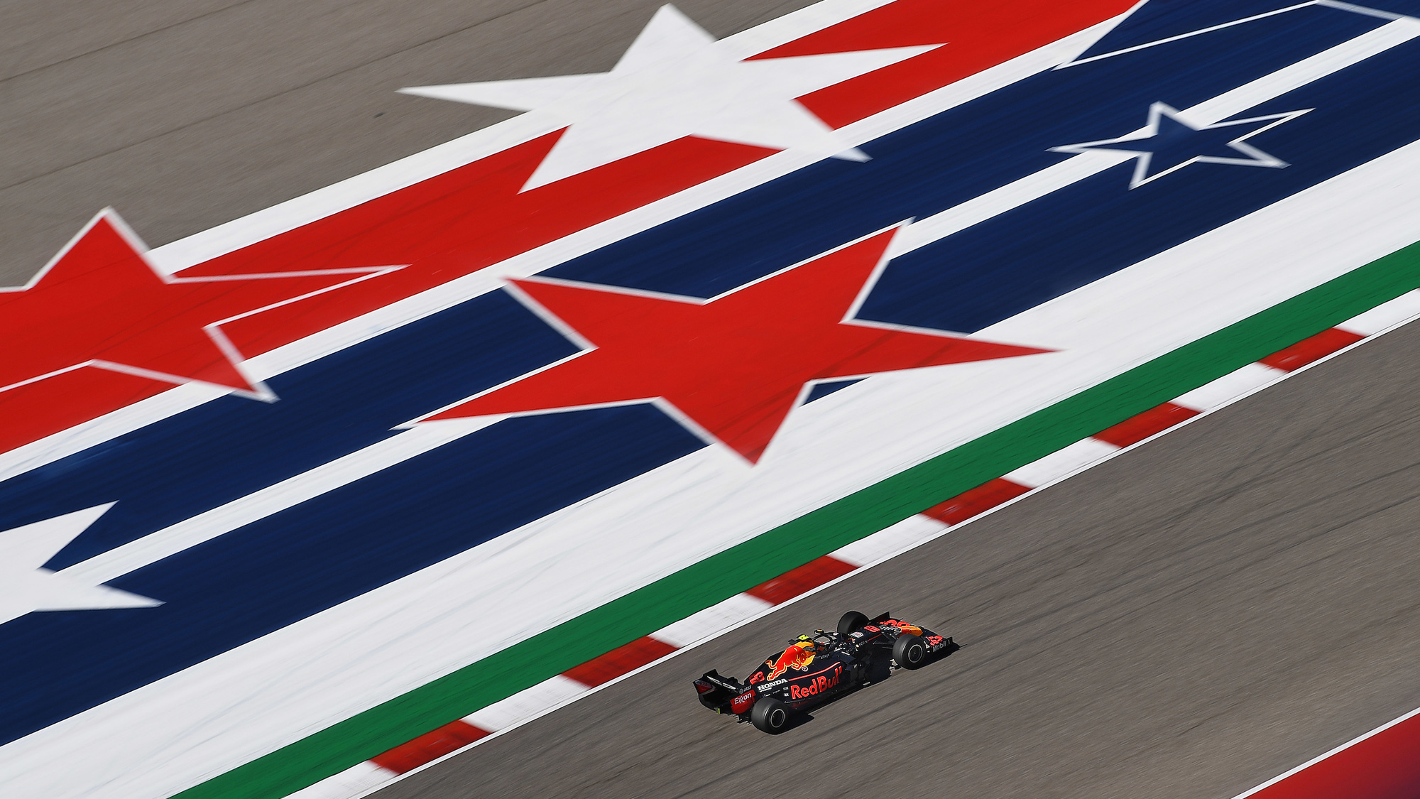 Alex Albon at the Circuit of the Americas 2019