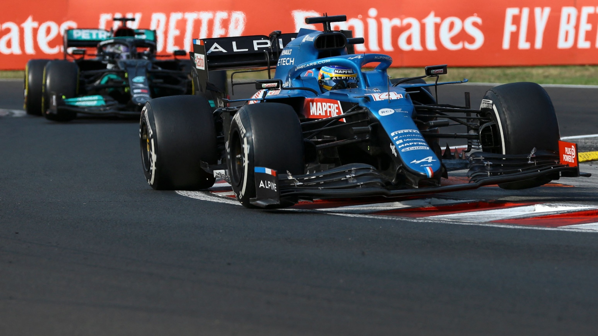 Fernando Alonso, 2021 Hungarian GP