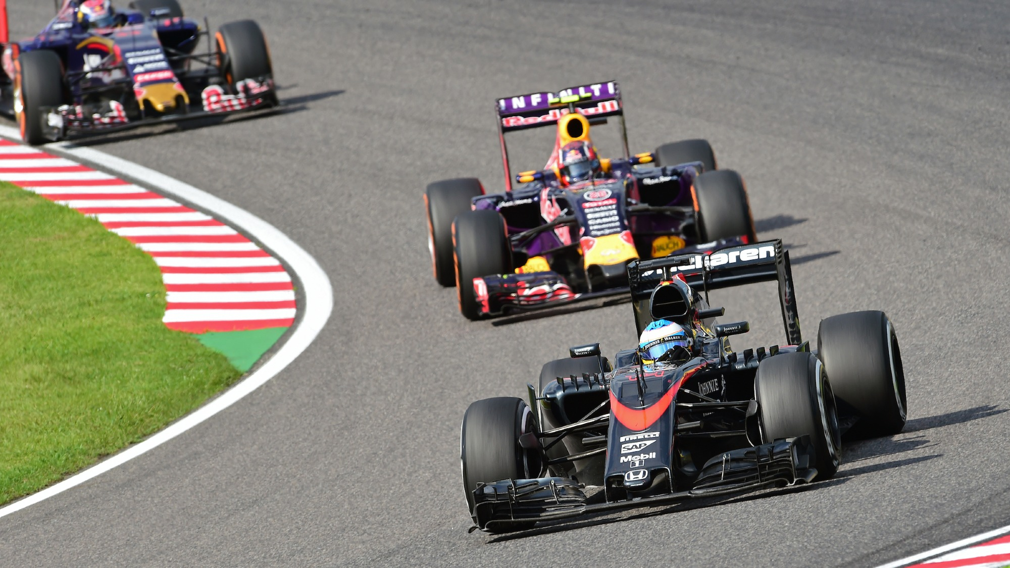 Fernando Alonso, 2015 Japanese GP