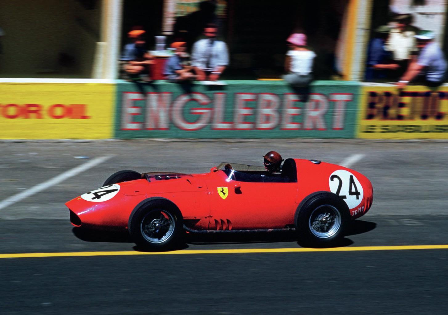Tony Brooks in Ferrari Dino 246