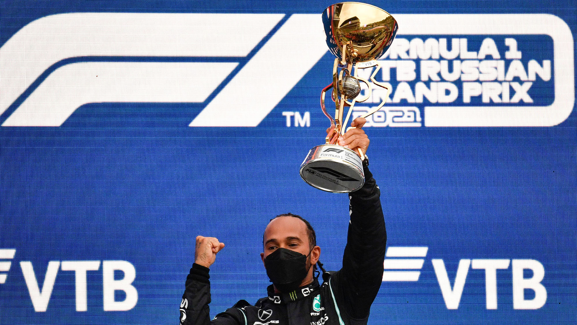 Lewis Hamilton wins 2021 Russian Grand Prix
