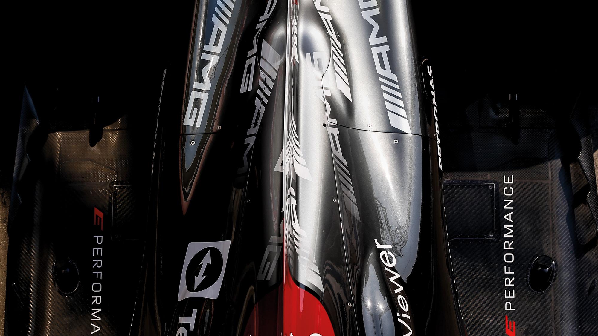 Mercedes F1 plenum bulge