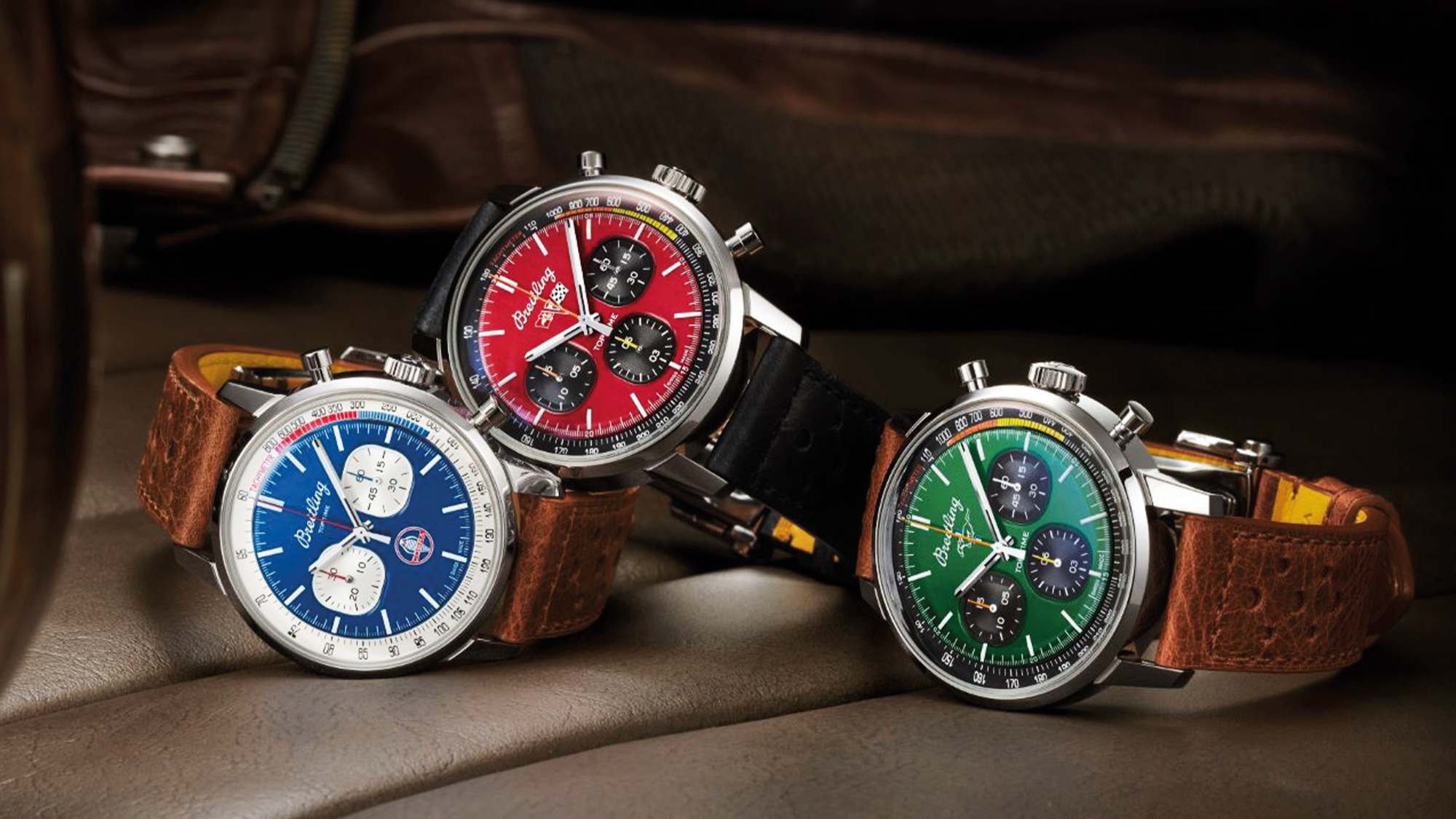 Breitling top time classic cars watches